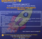 VAGAS ABERTAS – QUALIFICA RH – IT